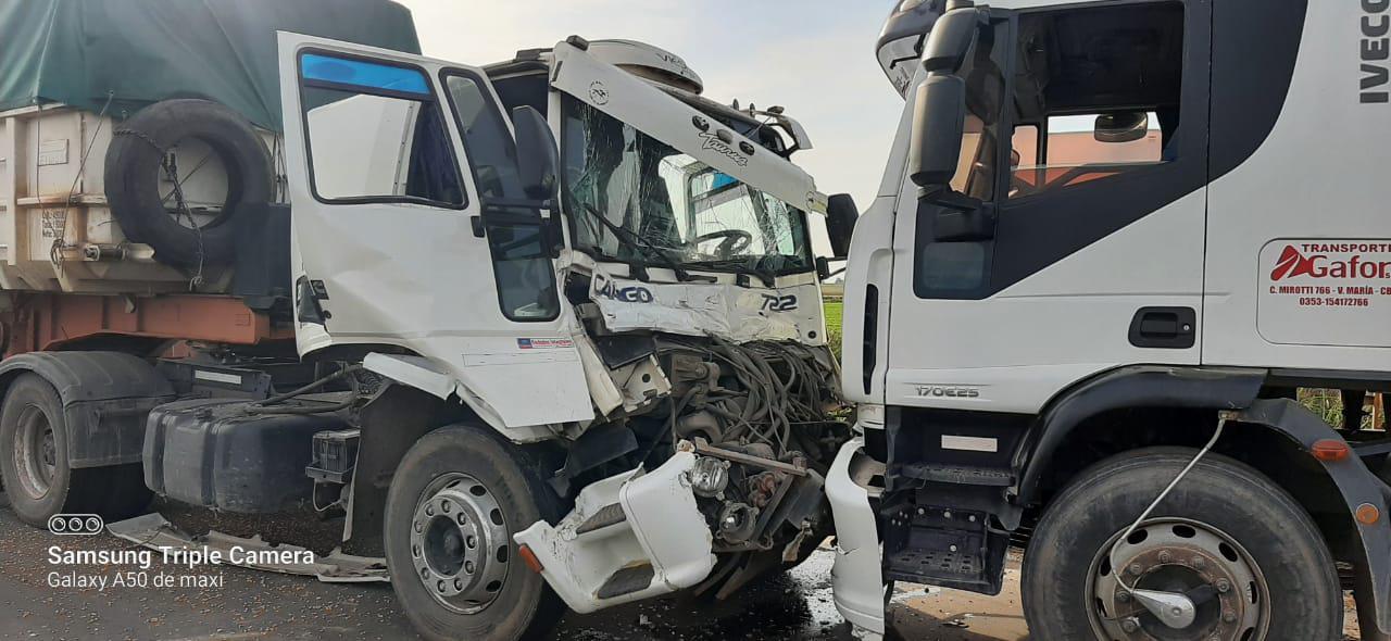 choque camiones