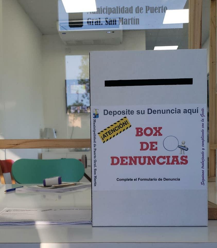 Box de Denuncias