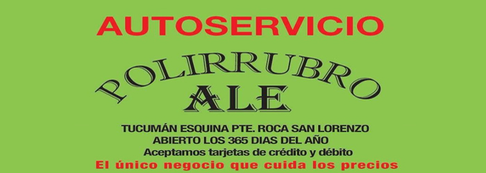 Polirrubro Ale Large